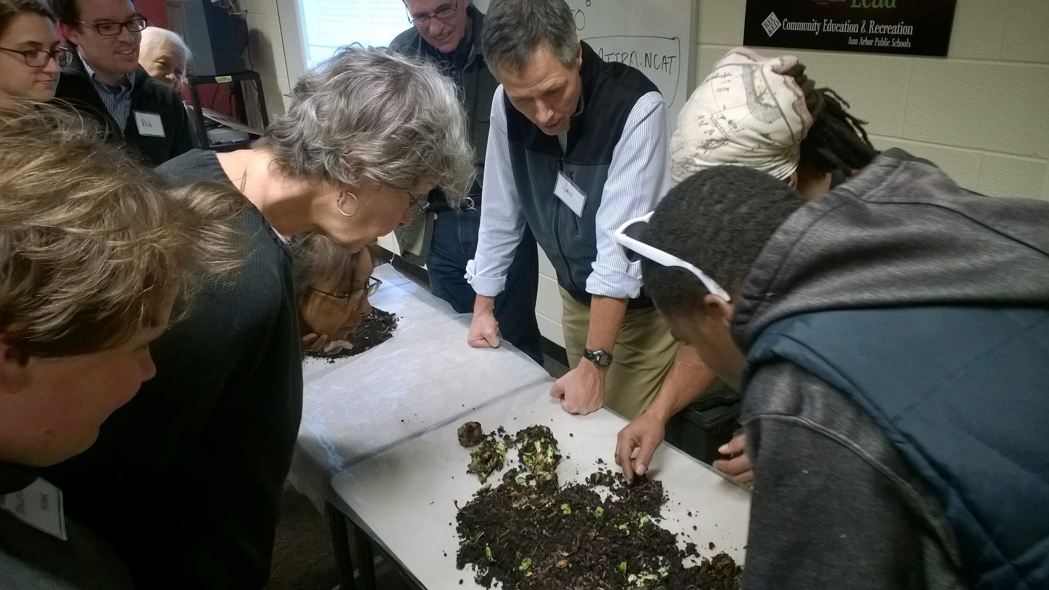 Master Composter classroom action