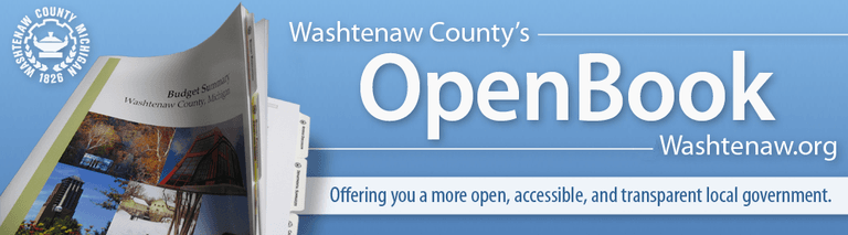 Washtenaw Countys Open Book.Washtenaw.org Offering you a more open, accessible and transprent local