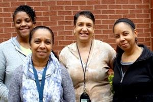 Hearing and Vision Screenings staff